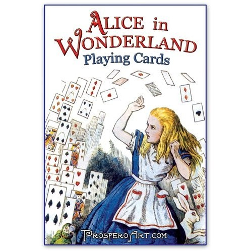 Игральные карты Alice In Wonderland (Blue Back )