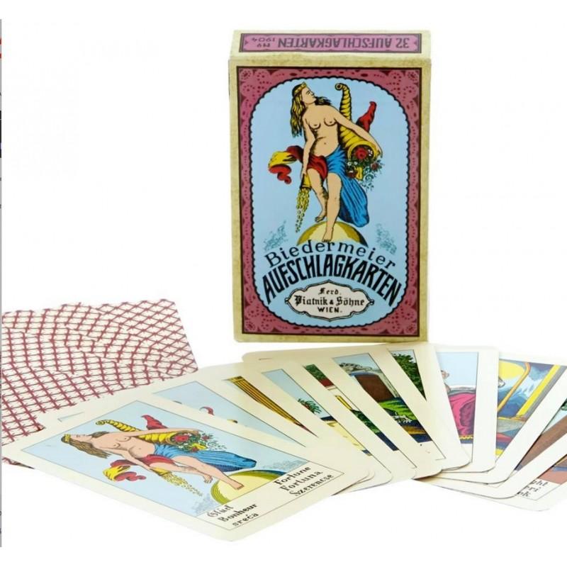 Biedermeier Fortune Telling Card