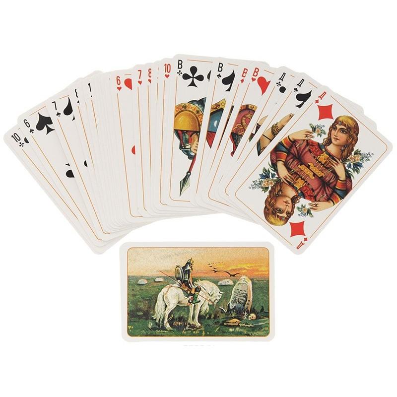 Игральные карты Славянские 55 листов