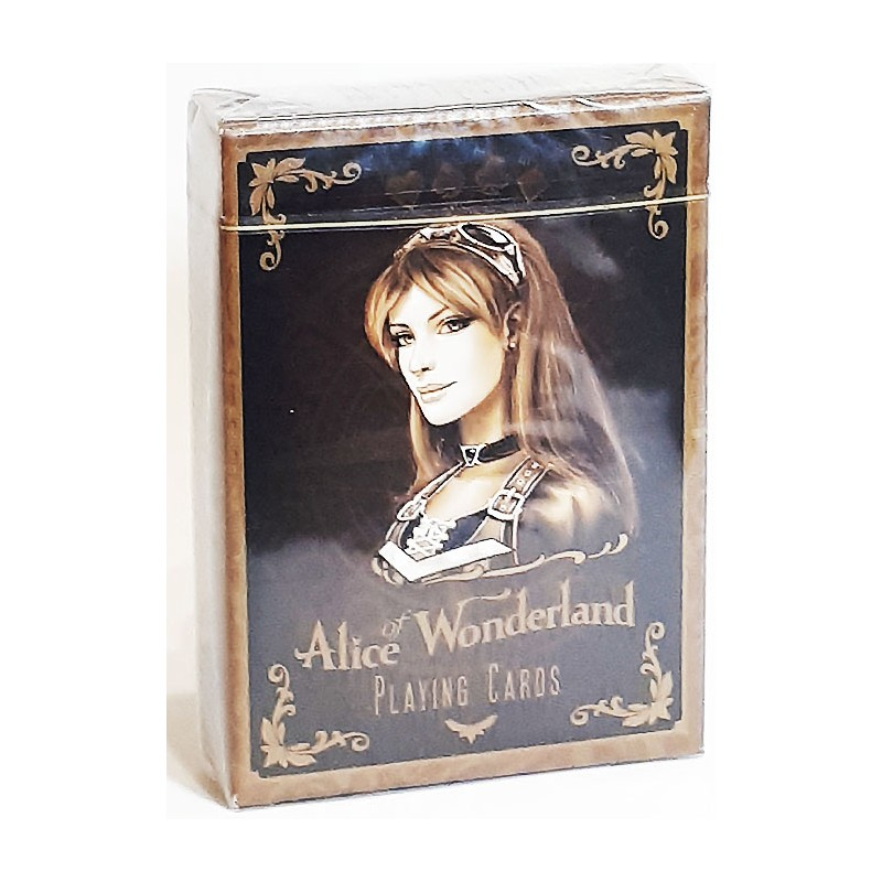 Alice Of Wonderland Playing Cards Gold  Editions