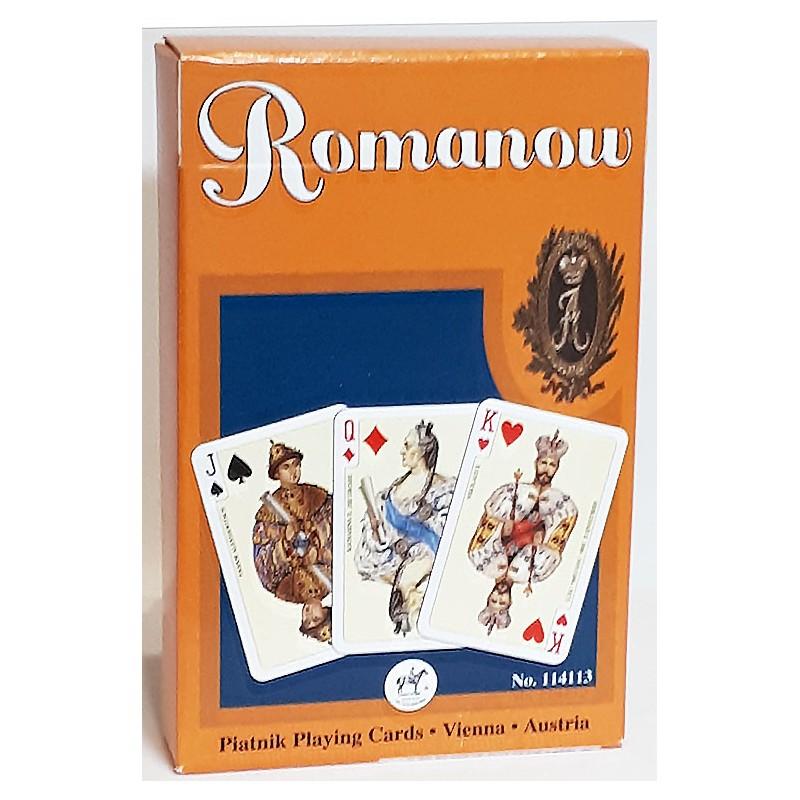 Игральные карты Династия Романовых 55 листов