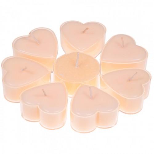Набор Сердцевидные Свечи Жасмин