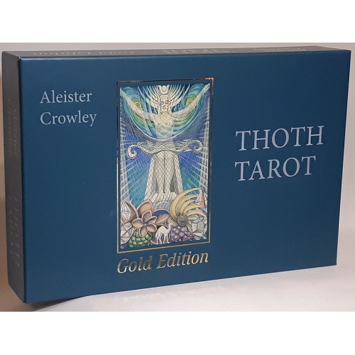 Aleister Crowley Thoth Tarot Gold Edition