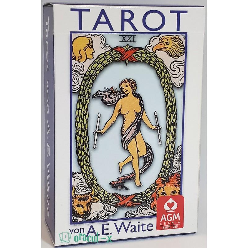 Tarot Waite Blau Pocket