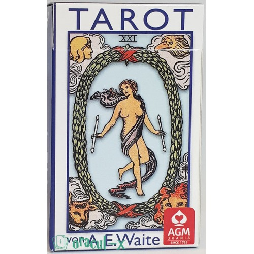 Tarot Waite Blau Mini