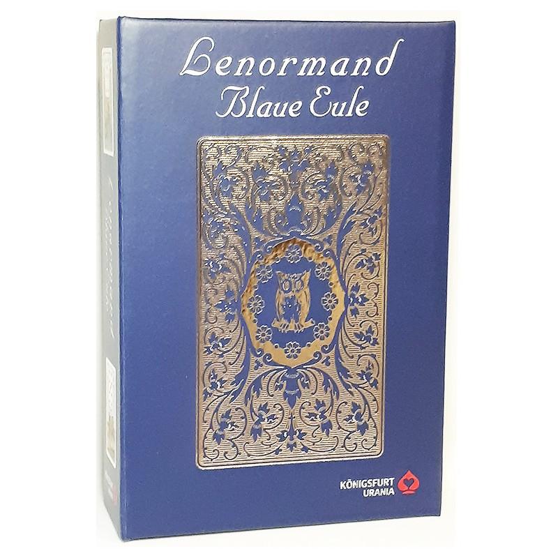 Lenormand Blaue Eule Premium